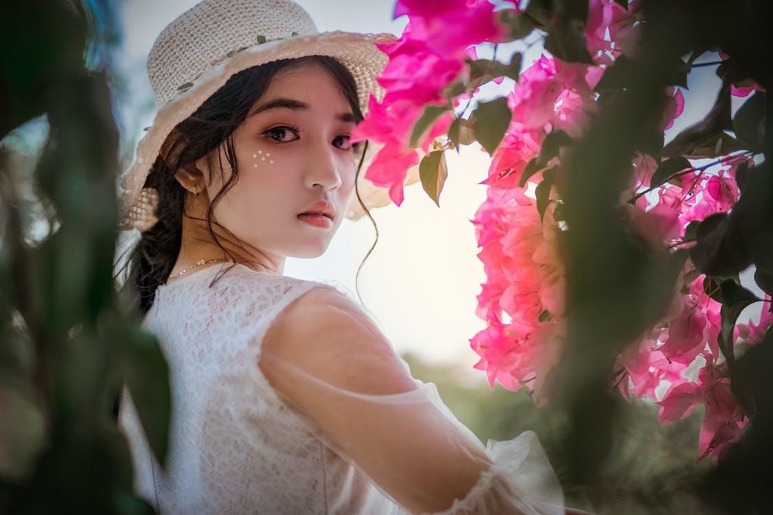 amor, asiàtica, bellesa