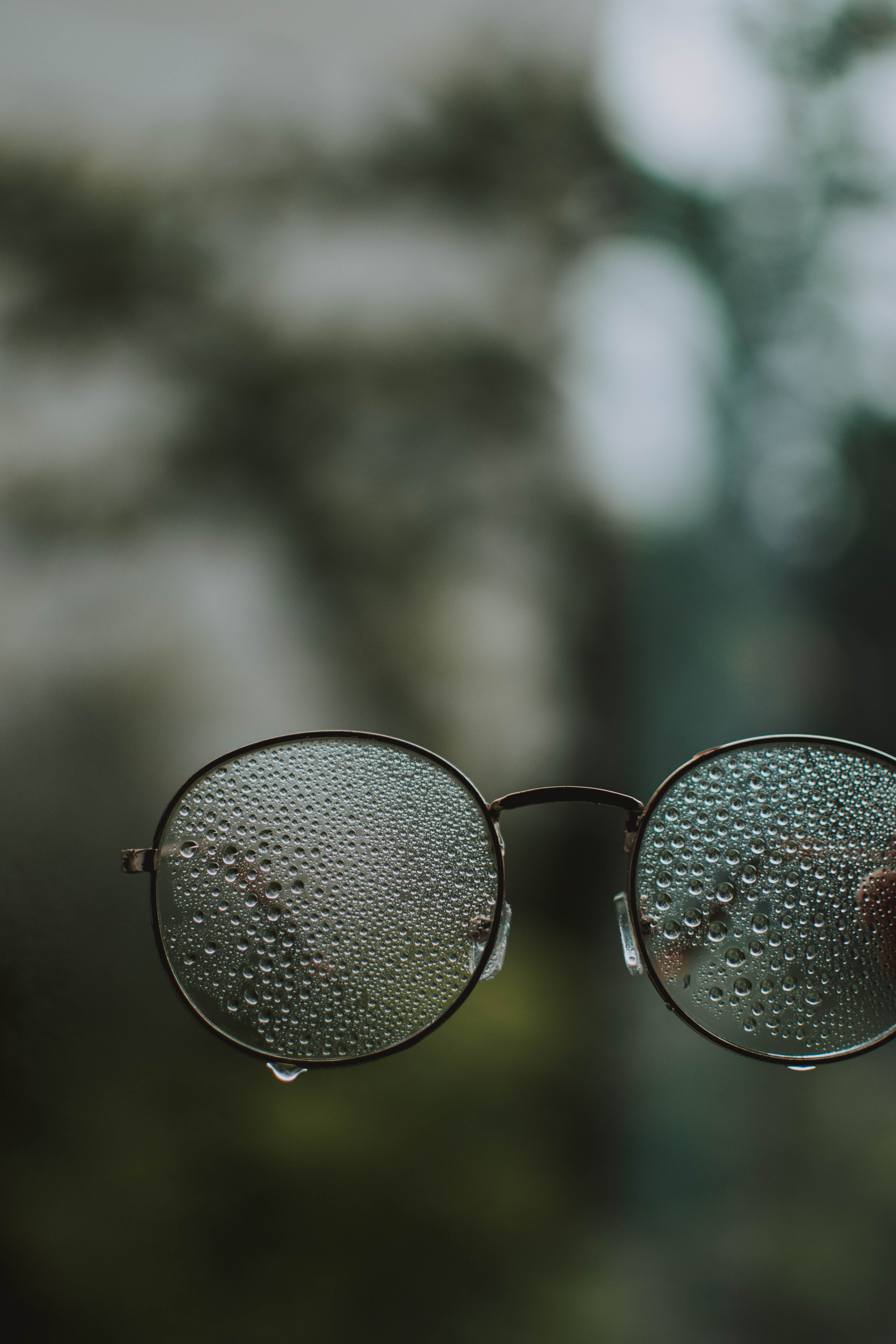 Wet Eyeglasses