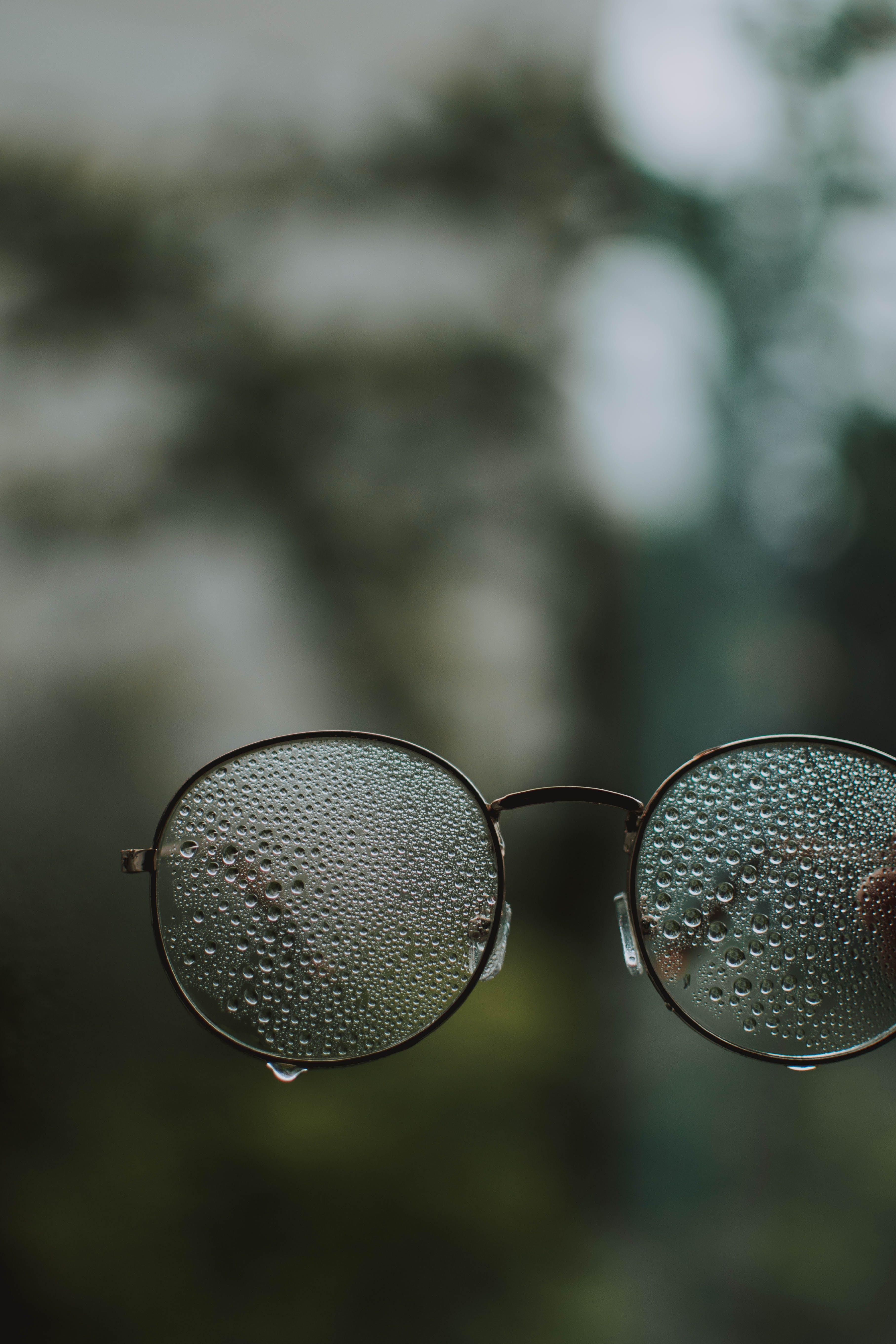 Wet Eyeglasses
