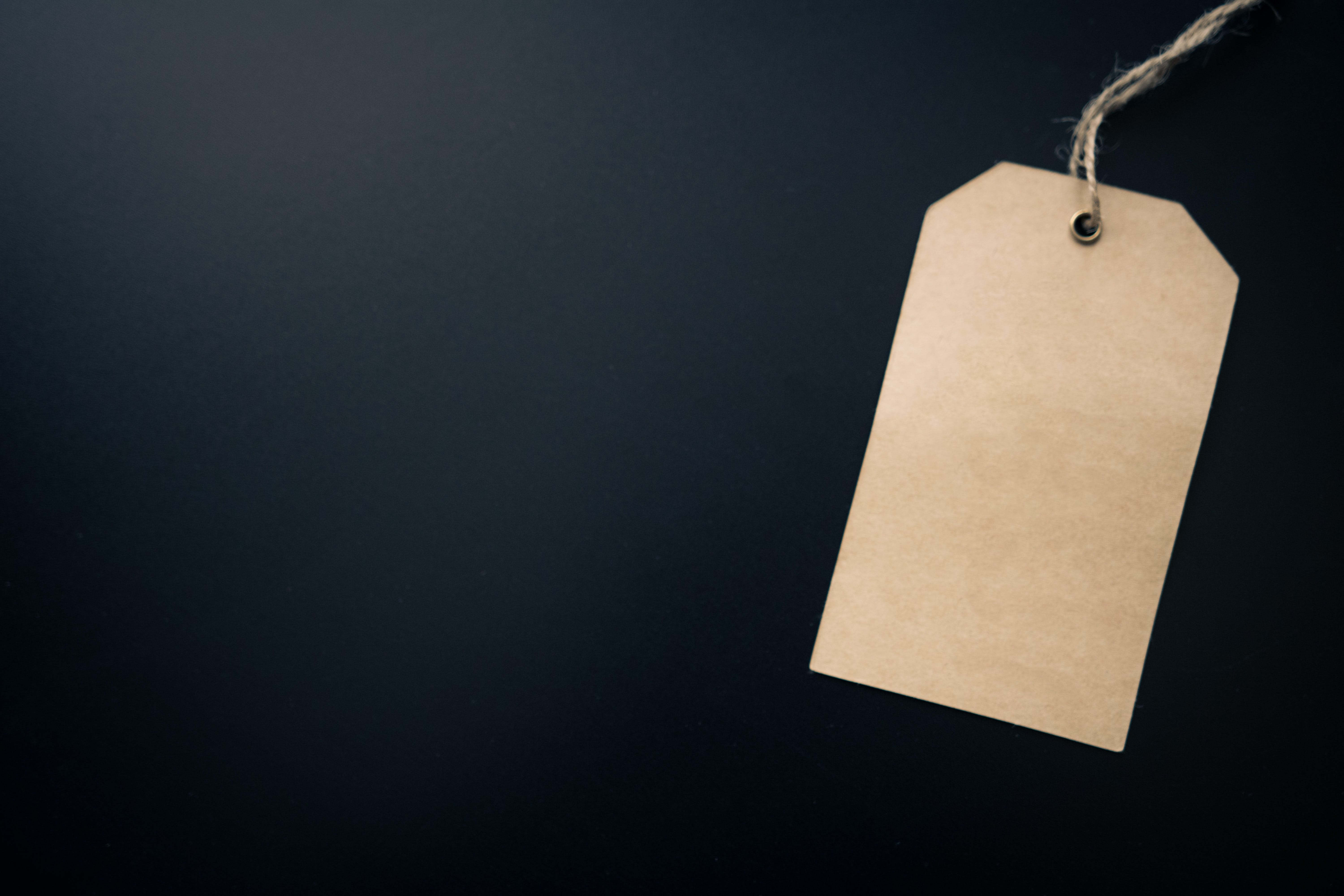 Free stock photo of paper, hanging, blank, card