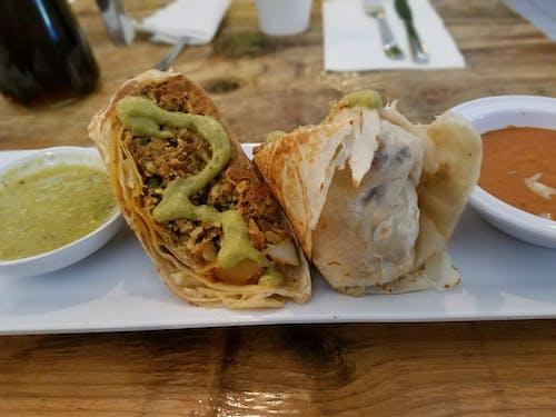 Free stock photo of burrito