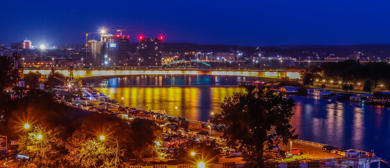 Free stock photo of beograd, night city, night shoot, river