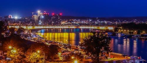 Free stock photo of beograd, night city, night shoot