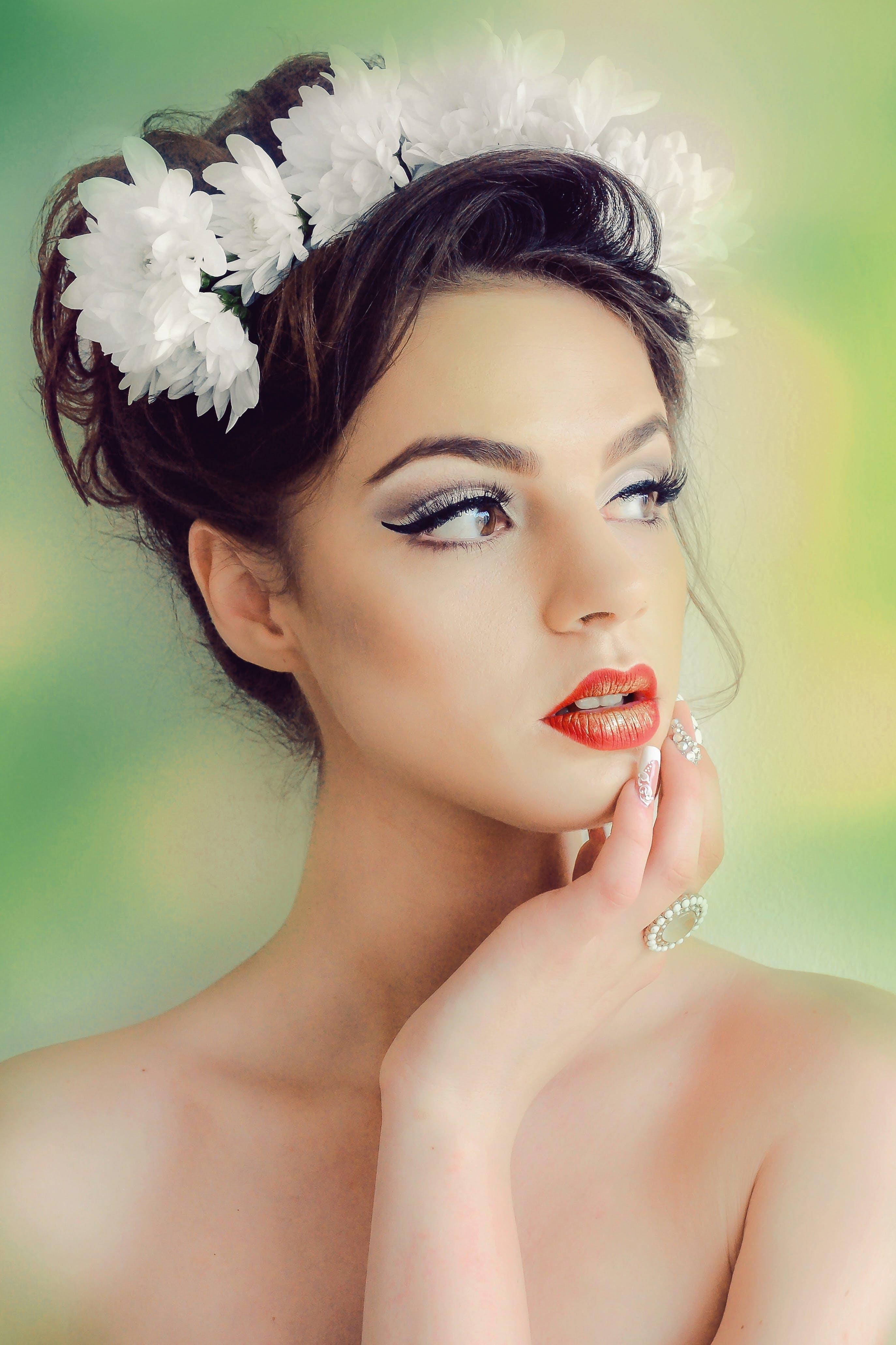 Free stock photo of fashion, flowers, girl, hot