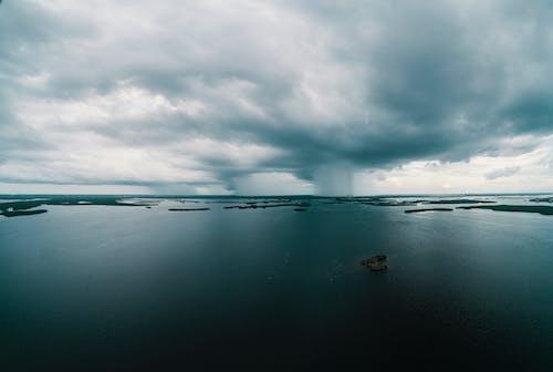 シースケープ, ビーチ, 光, 地平線の無料の写真素材