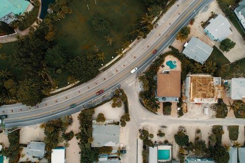 Gratis stockfoto met architectuur, daglicht, drone uitzicht, fel