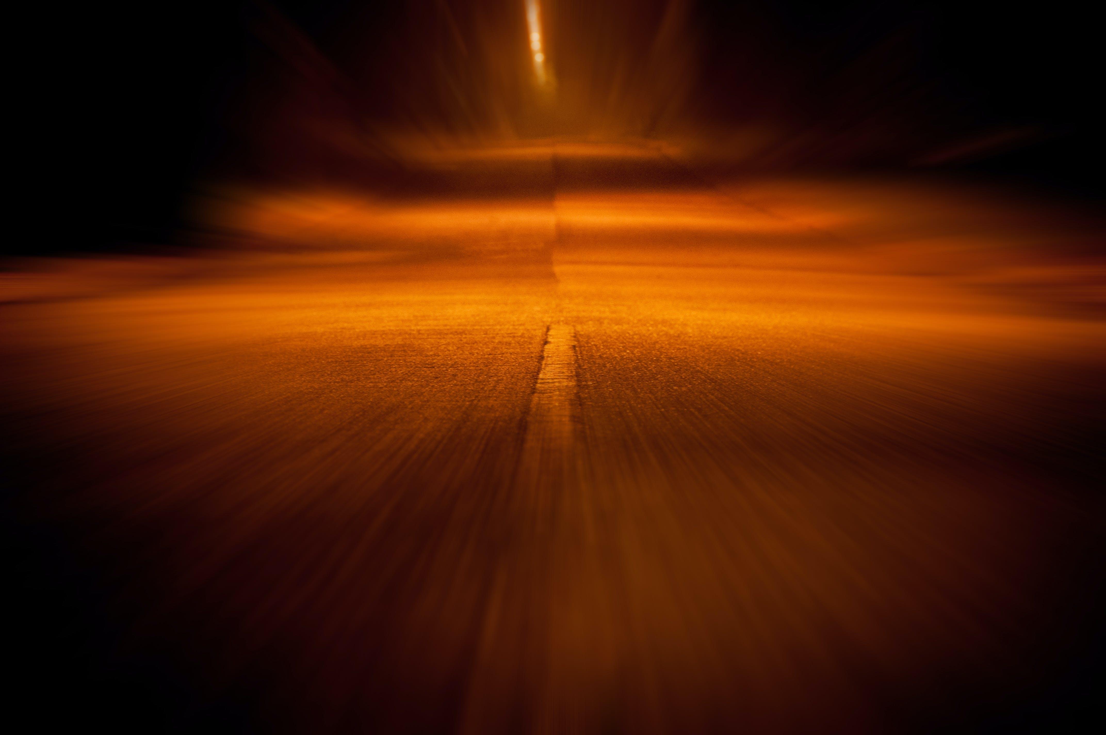 Free stock photo of street, motion, lines, street lights