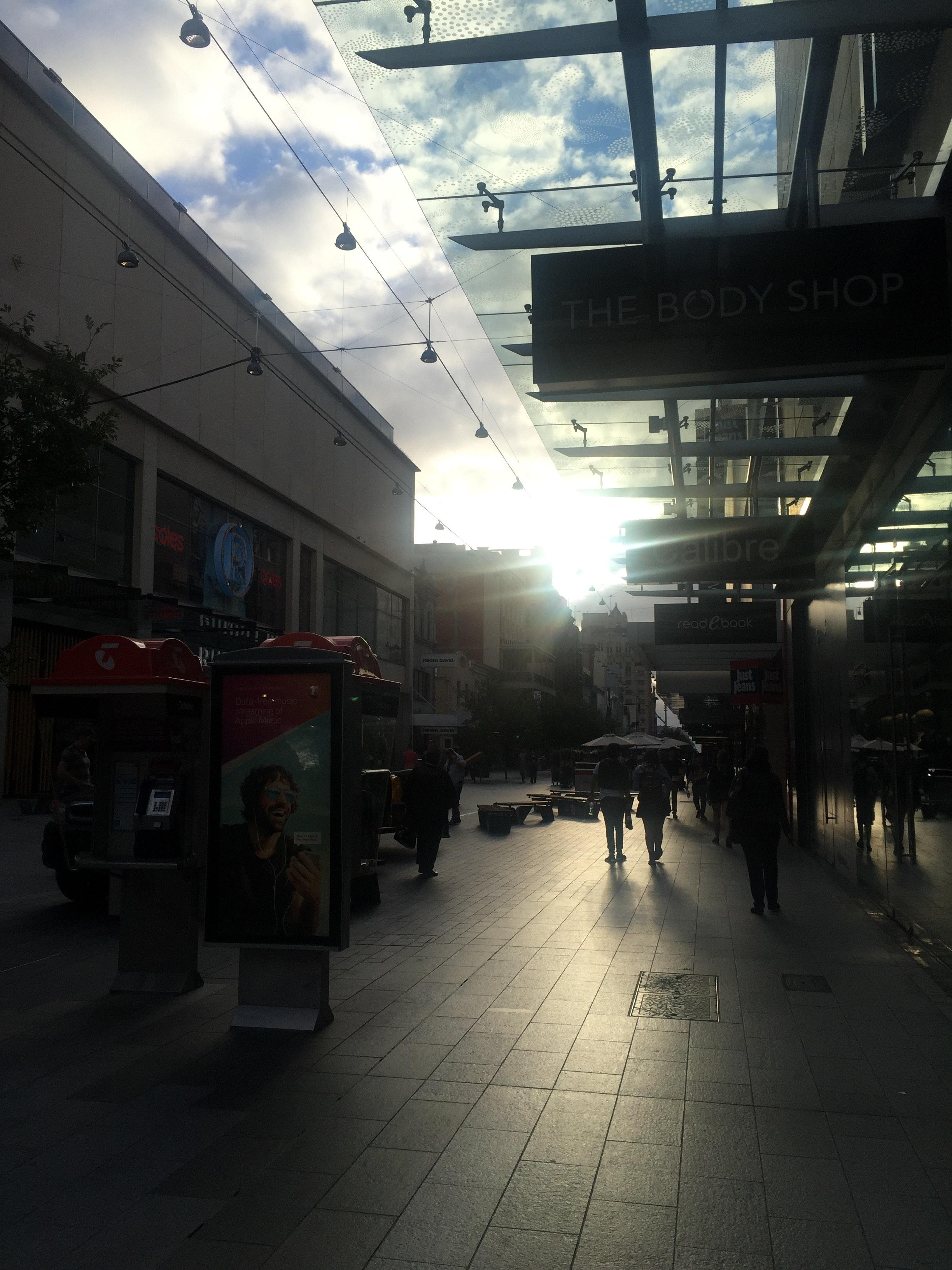 Free stock photo of city center, city life, city lights