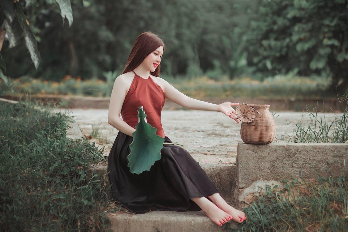 ázsiai lány, ázsiai nő, divat