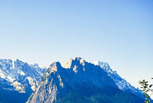 Free stock photo of Bavaria, mountains, snow capped mountains