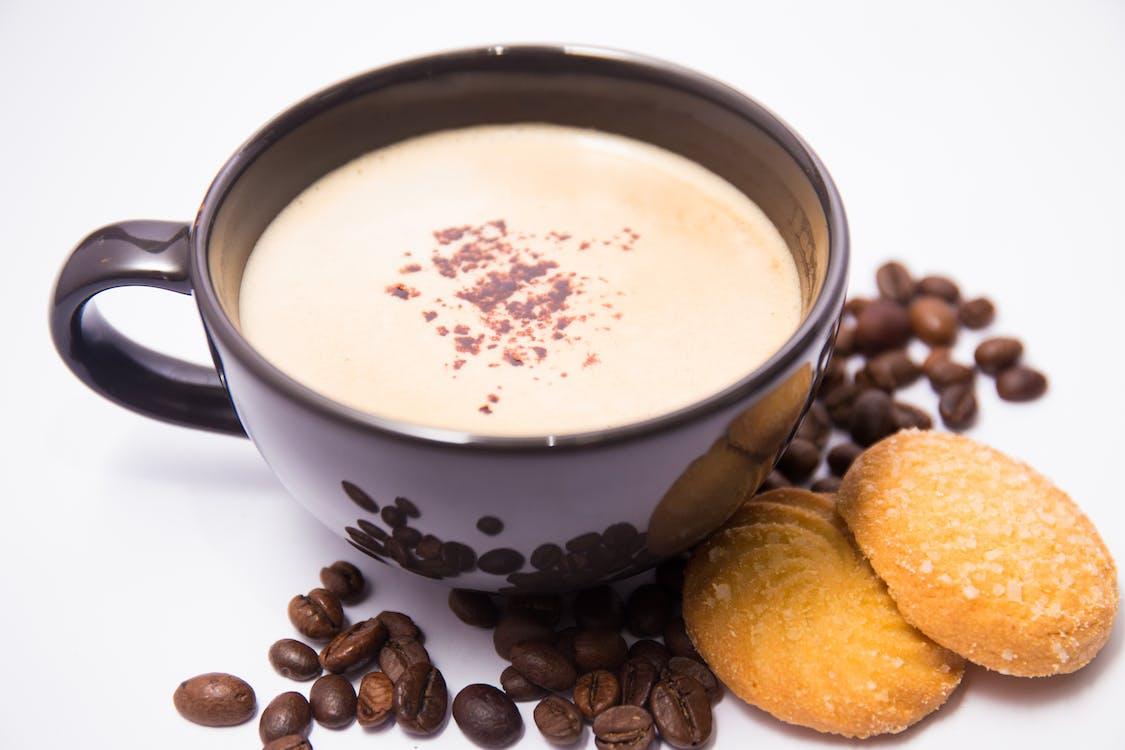 Gratis stockfoto met aroma, cookie, drinken