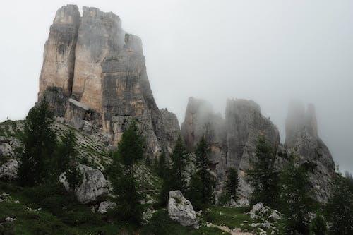 多洛米蒂山脈, 天性, 景觀, 有霧 的 免費圖庫相片