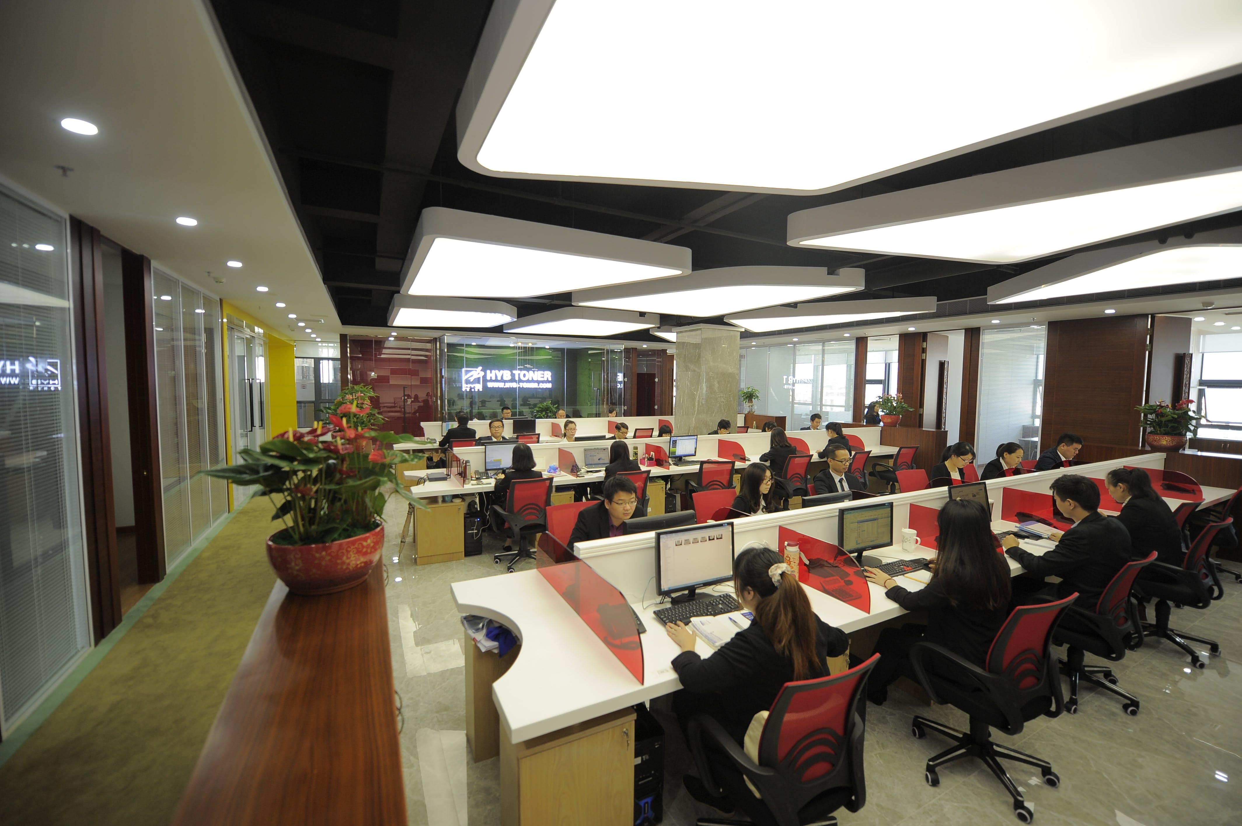 officespace, public place