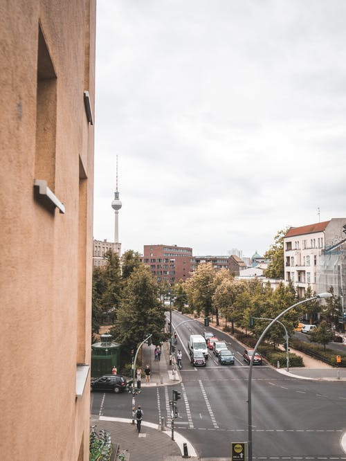 Gratis arkivbilde med berlin, by, bygninger, gate