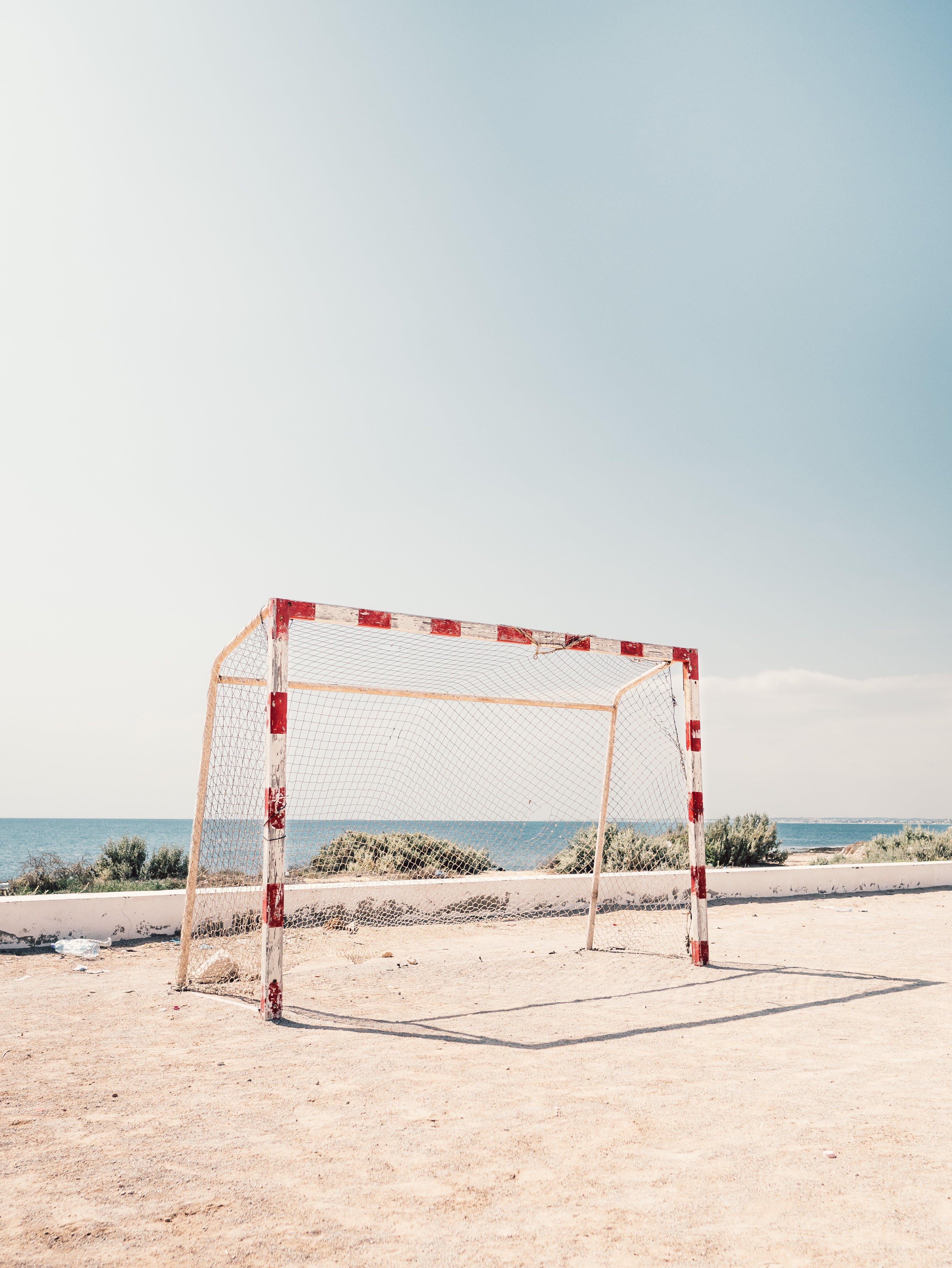 得分, 網, 足球球門 的 免费素材照片