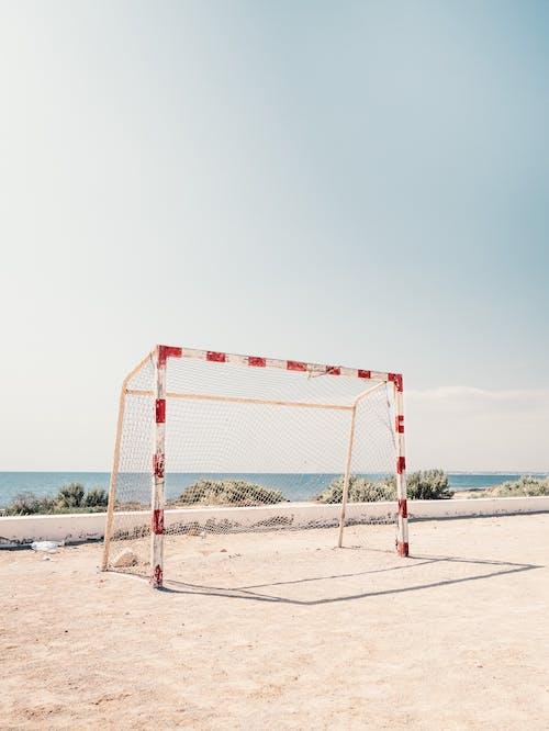 Δωρεάν στοκ φωτογραφιών με γκολ, δίχτυ, ποδοσφαιρικό γκολ