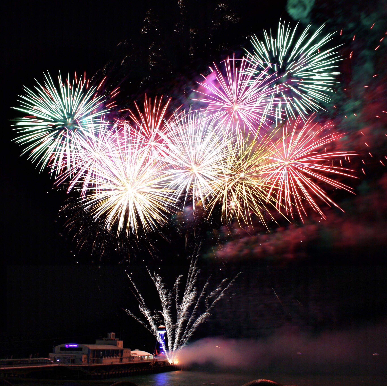 Δωρεάν στοκ φωτογραφιών με γιορτή, μακροχρόνια έκθεση, νέο έτος, Νύχτα