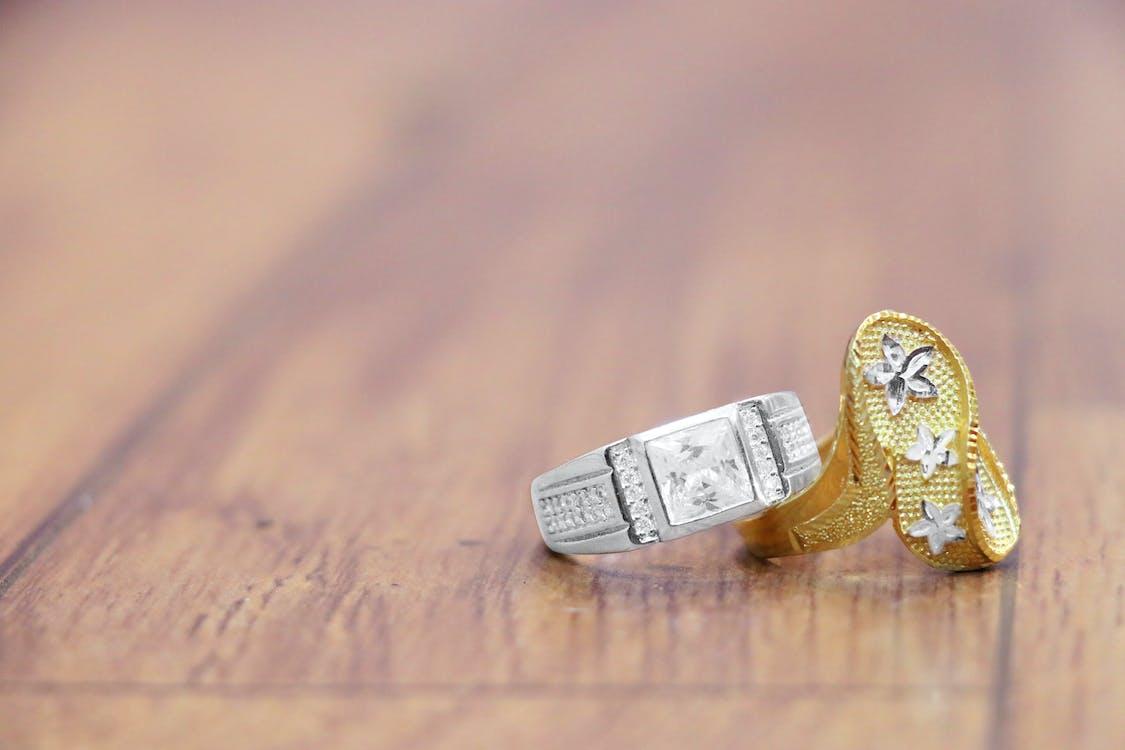 Ảnh lưu trữ miễn phí về bạch kim, kim cương, nhẫn đính hôn
