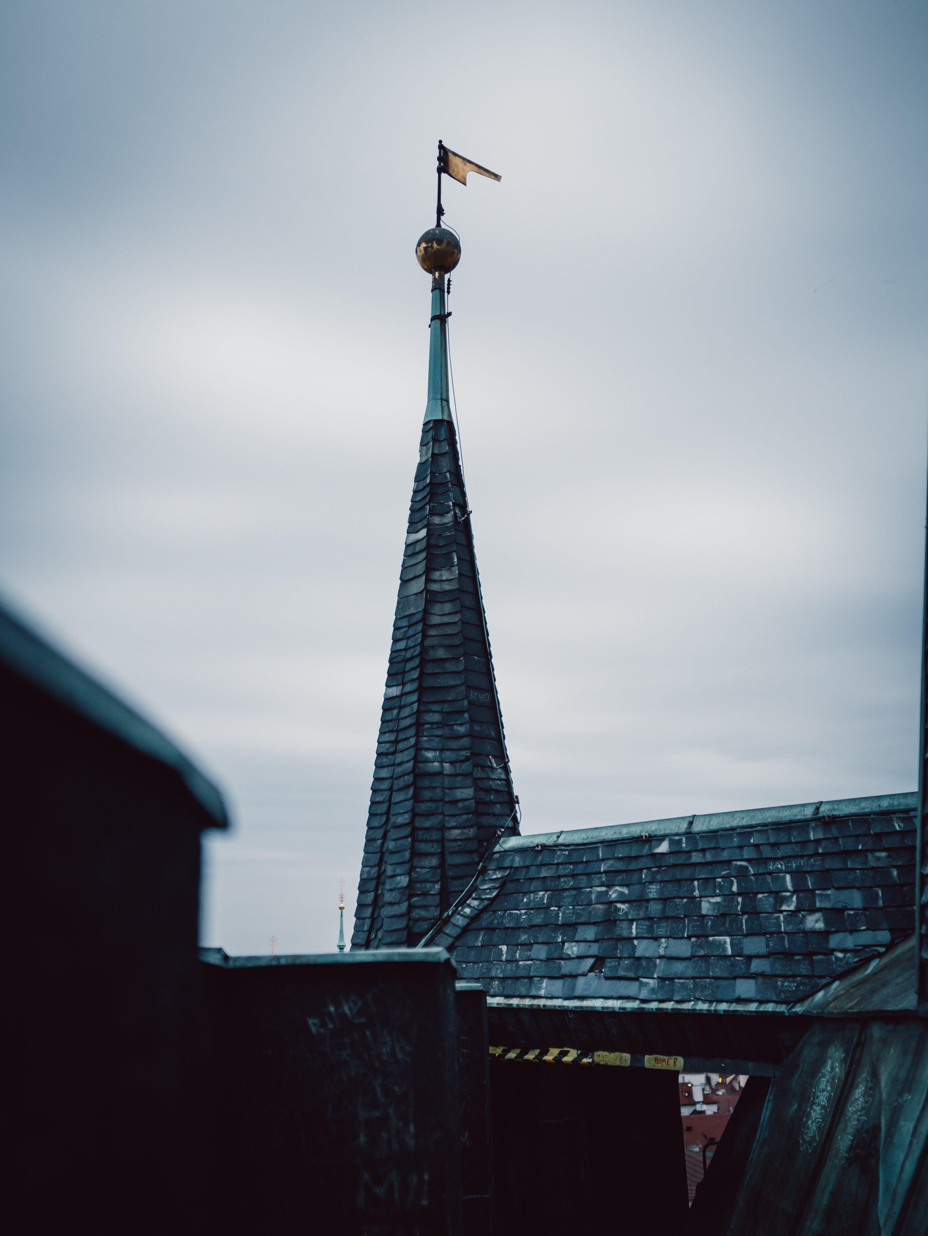 Kostenloses Stock Foto zu dach, gipfel, stimmung, verschwimmen