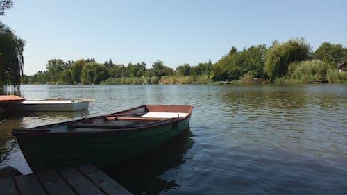 夏天, 河岸, 漁船, 船 的 免費圖庫相片