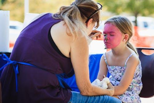 Základová fotografie zdarma na téma dítě, holky, lidé, malování na obličej