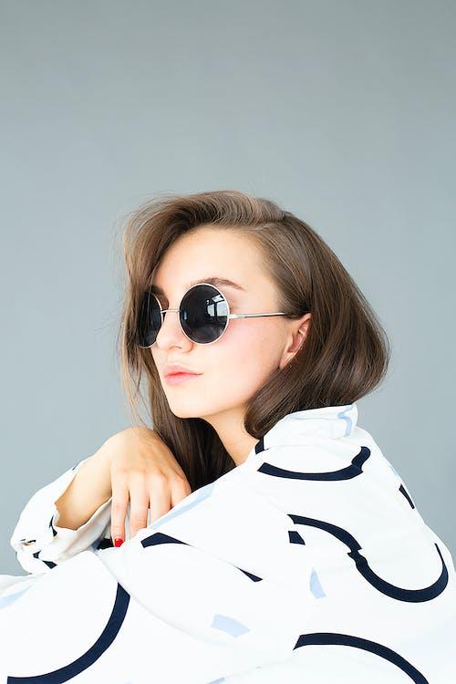 모델, 사람, 선글라스, 소녀의 무료 스톡 사진