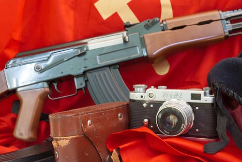 Free stock photo of cold war, communism, fed camera