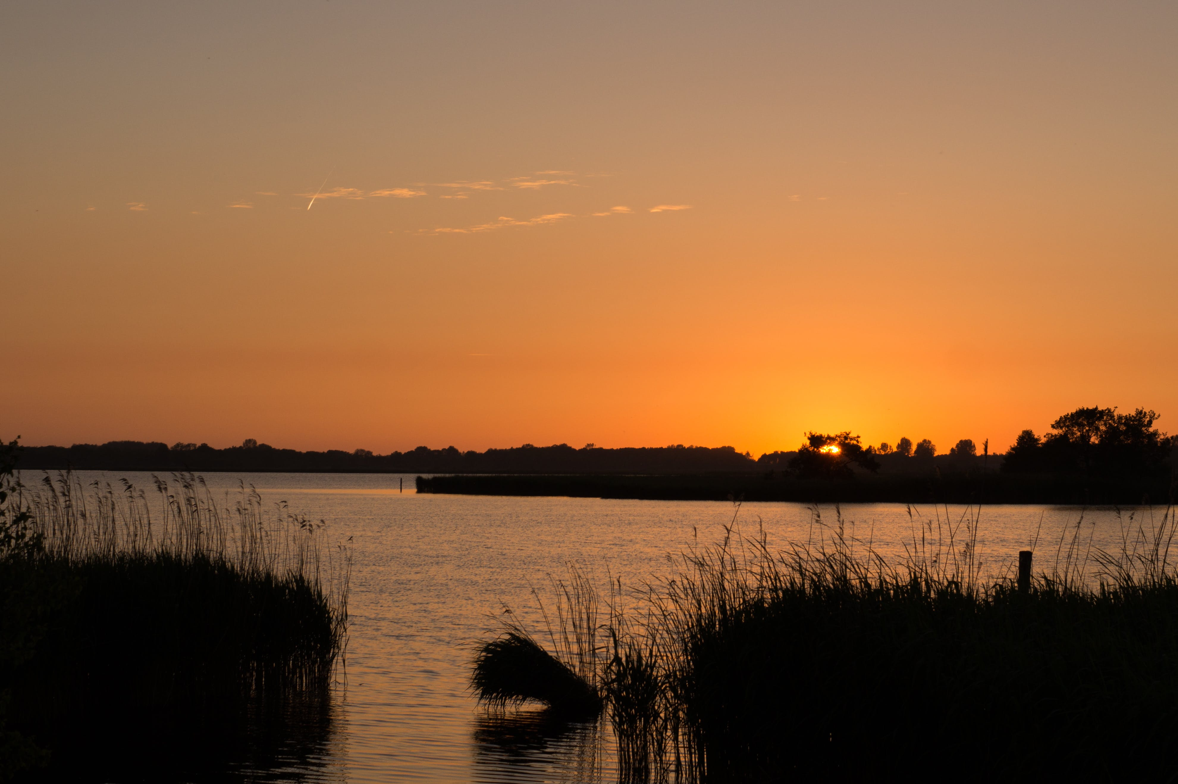 Free stock photo of landscape, sunset, water, lake