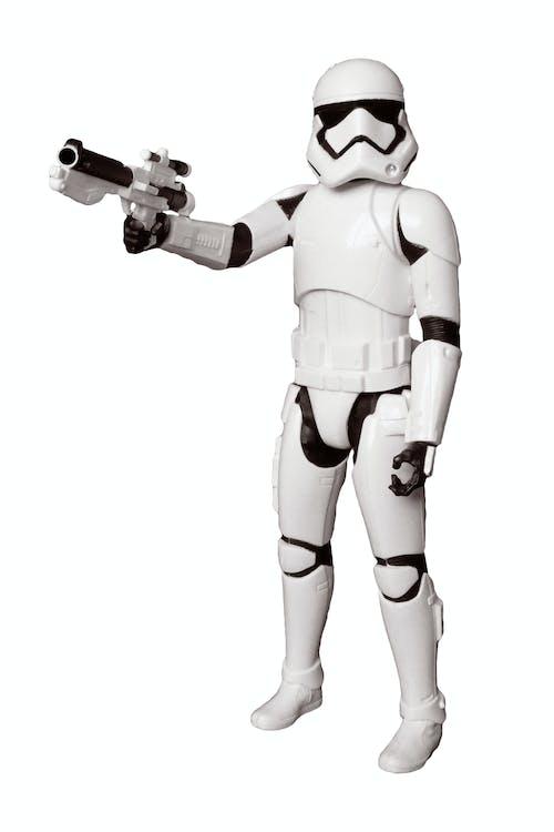 Gratis stockfoto met actiefiguur, beeldje, geweer, helm