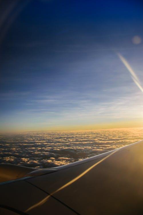 アフリカの空, 飛行機の写真の無料の写真素材