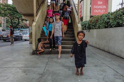 Ingyenes stockfotó gyerekek, szegénység témában