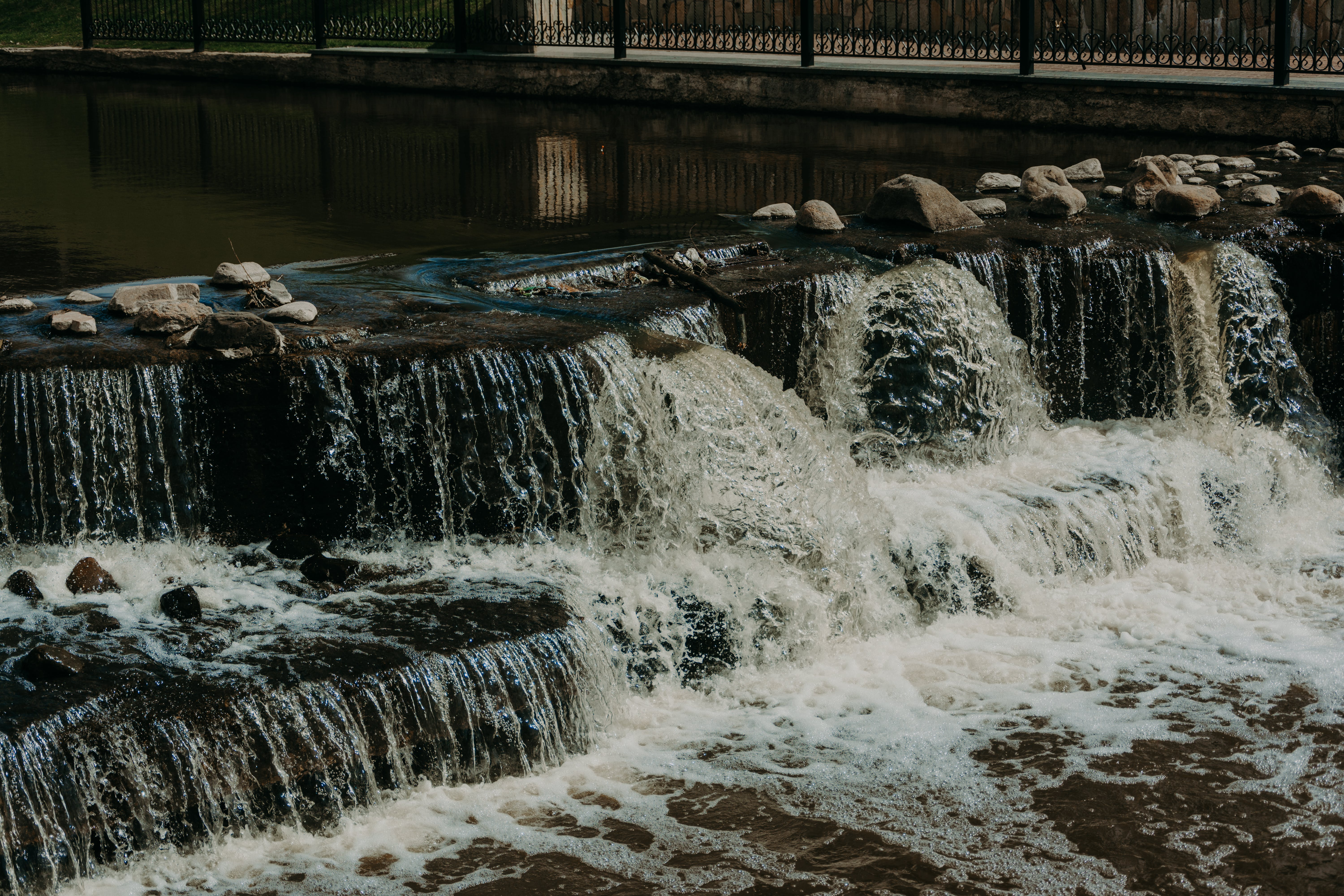 Time-lapse Photography of River