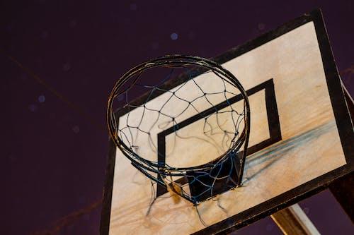 Ilmainen kuvapankkikuva tunnisteilla ilta, kenttä, koripallo, koripallokori