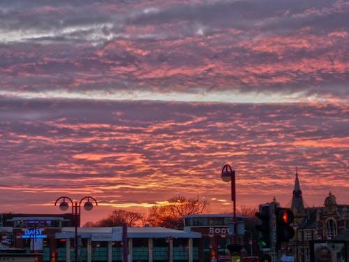Бесплатное стоковое фото с заход солнца