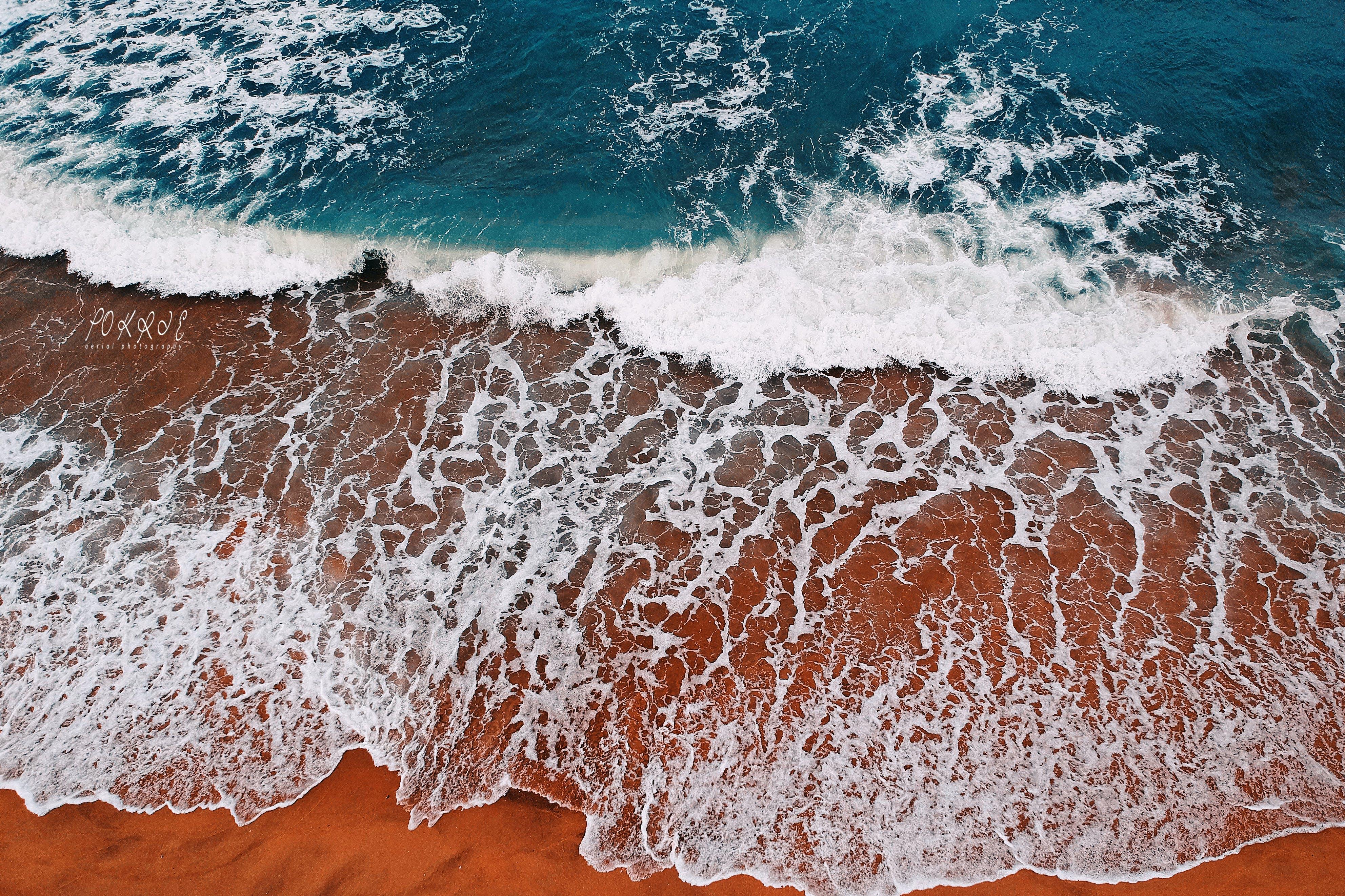 Gratis stockfoto met dag, golven, h2o, landschap