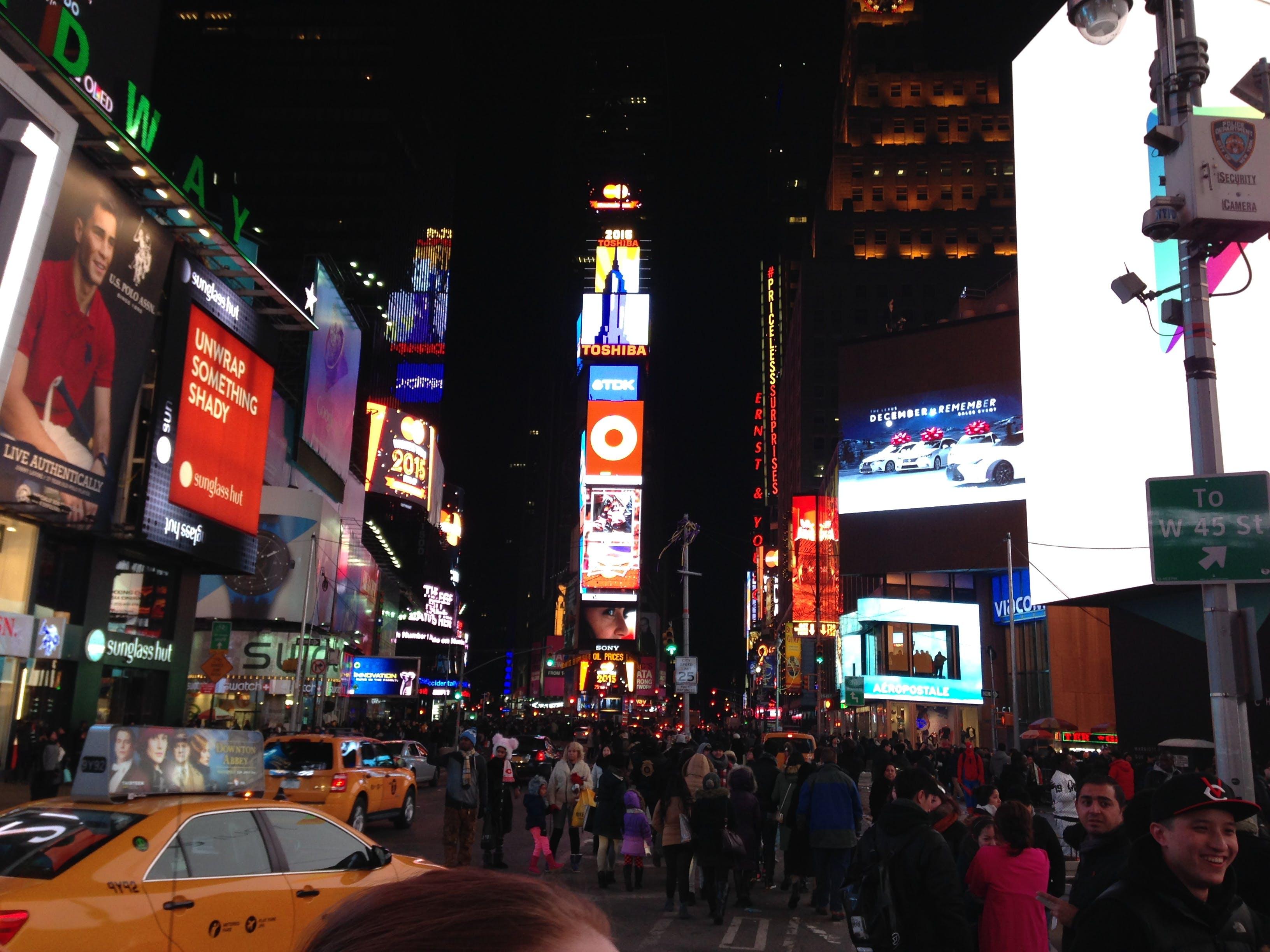 Free stock photo of city, new, new york, nyc