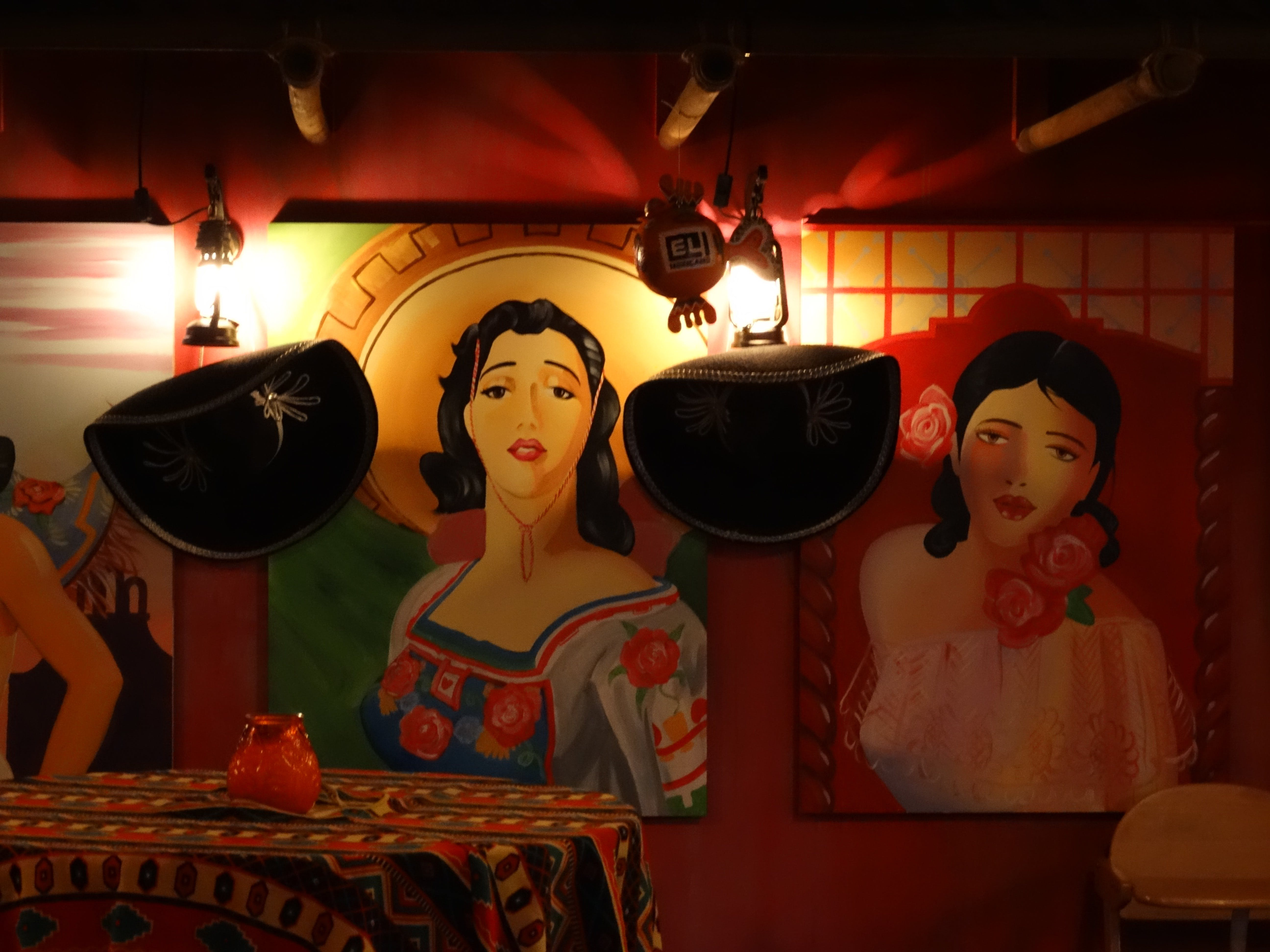 Free stock photo of art, mexican, restaurant