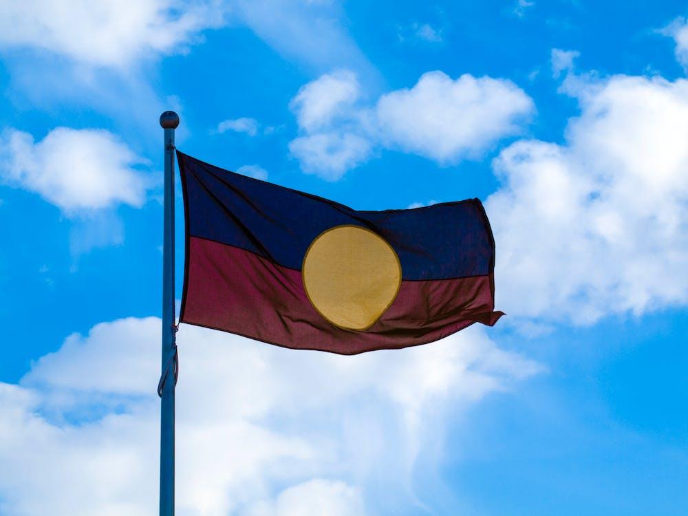Free stock photo of aboriginal, aboriginal flag, aboriginal flag australia
