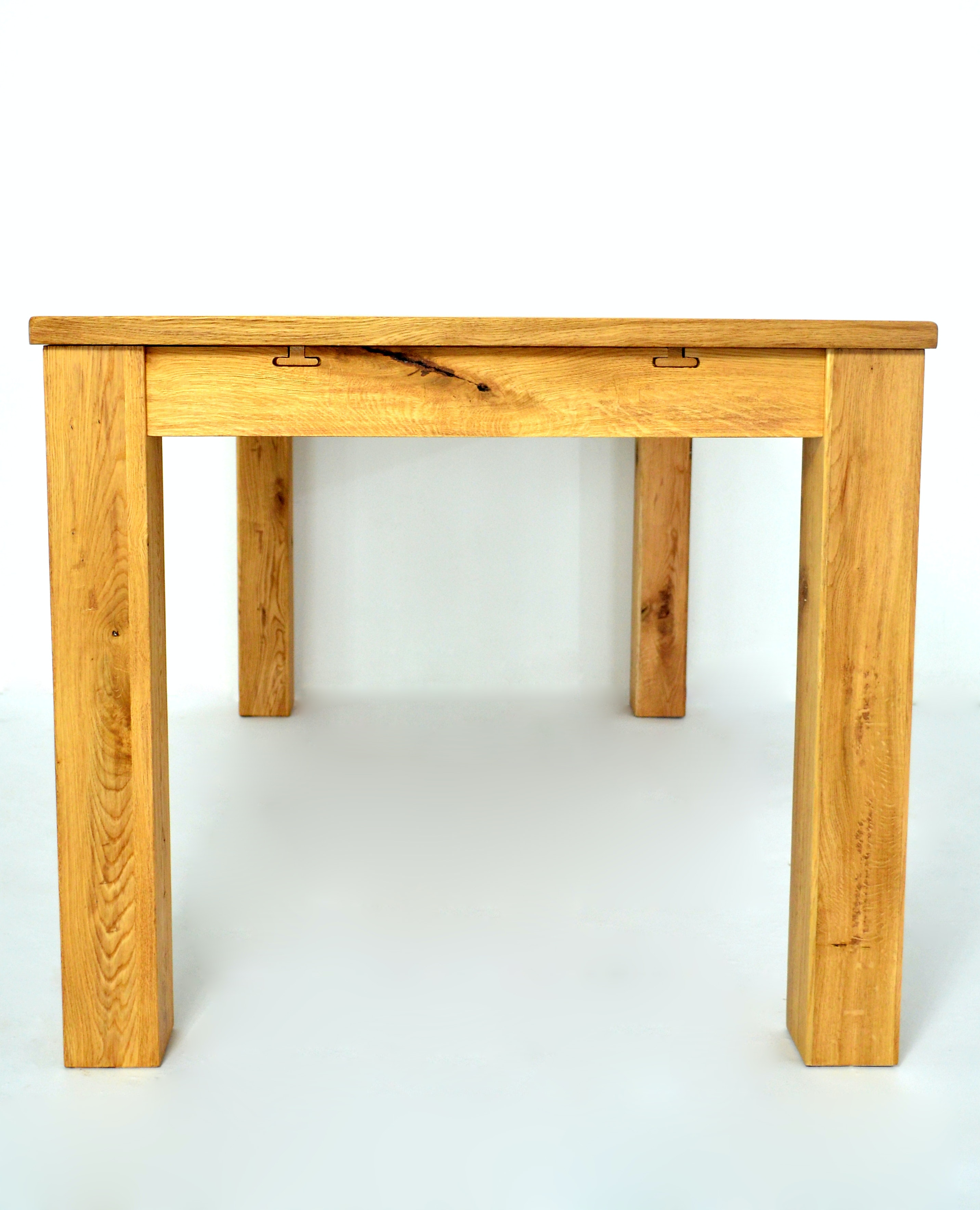 FREE STOCK PHOTO OF EXTENDABLE TABLE MADE IN SOLID OAK