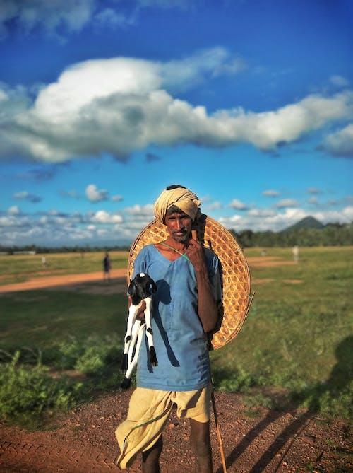 Δωρεάν στοκ φωτογραφιών με άνδρας, Άνθρωποι, άνθρωπος από Ινδία, γαλάζιος ουρανός