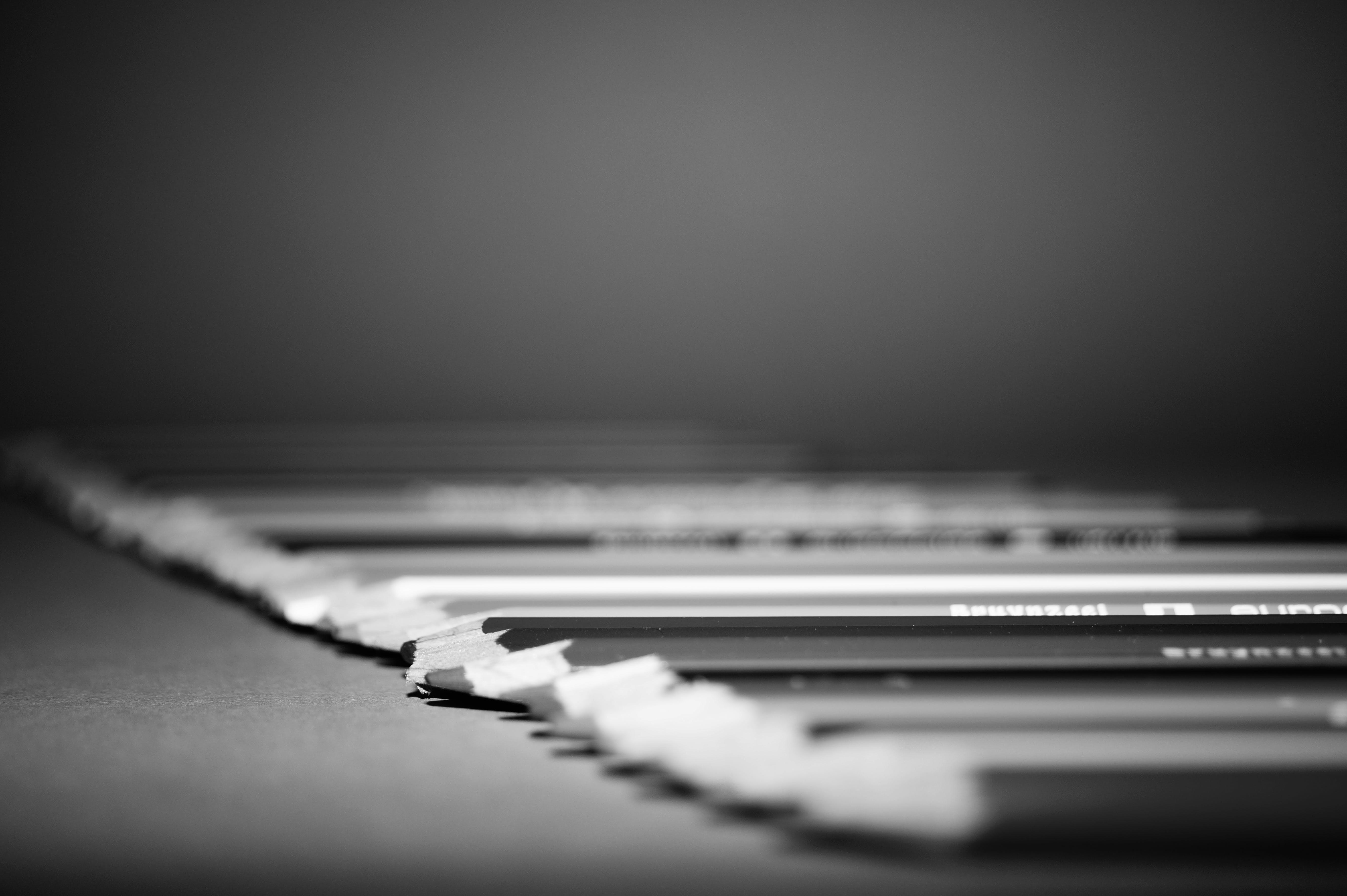 black and white, blur, blurry
