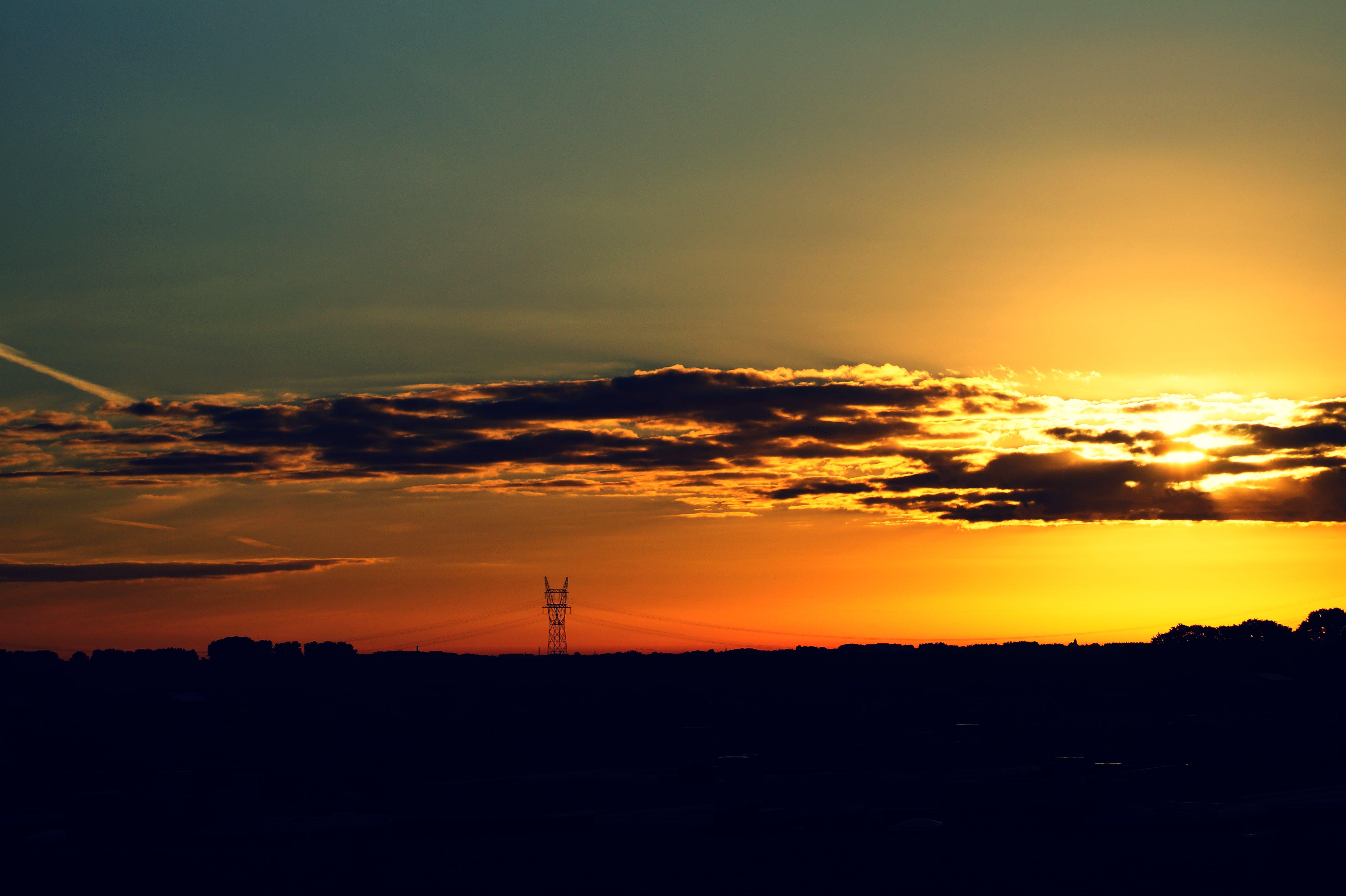 Gratis stockfoto met dageraad, donker, fel, hemel