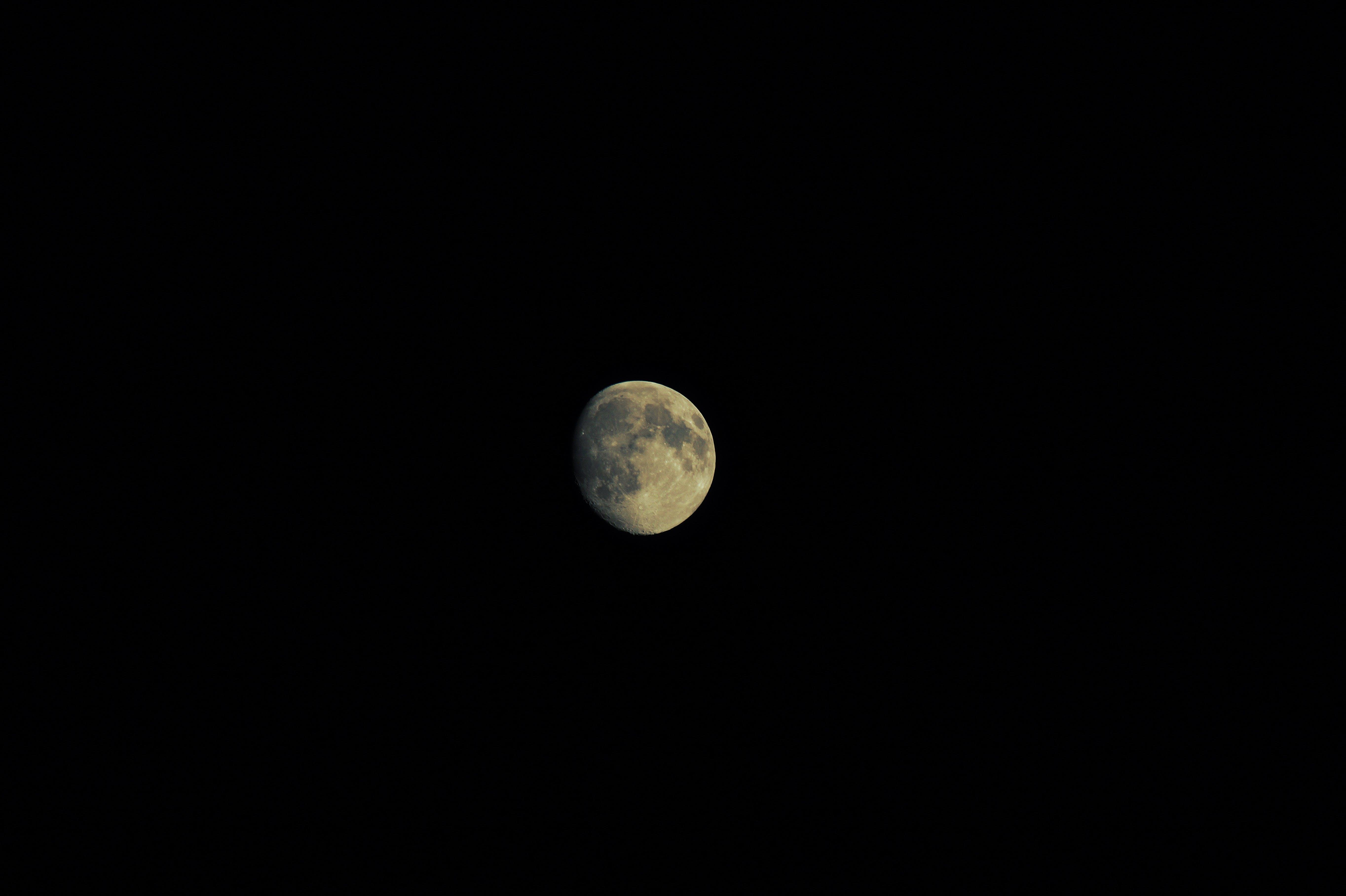 astronomy, dark, full moon