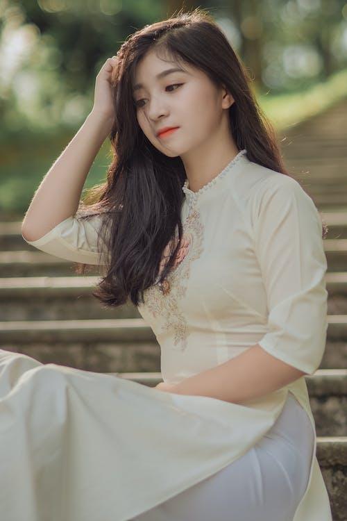 Kostenloses Stock Foto zu asiatin, asiatische frau, asiatische person, attraktiv