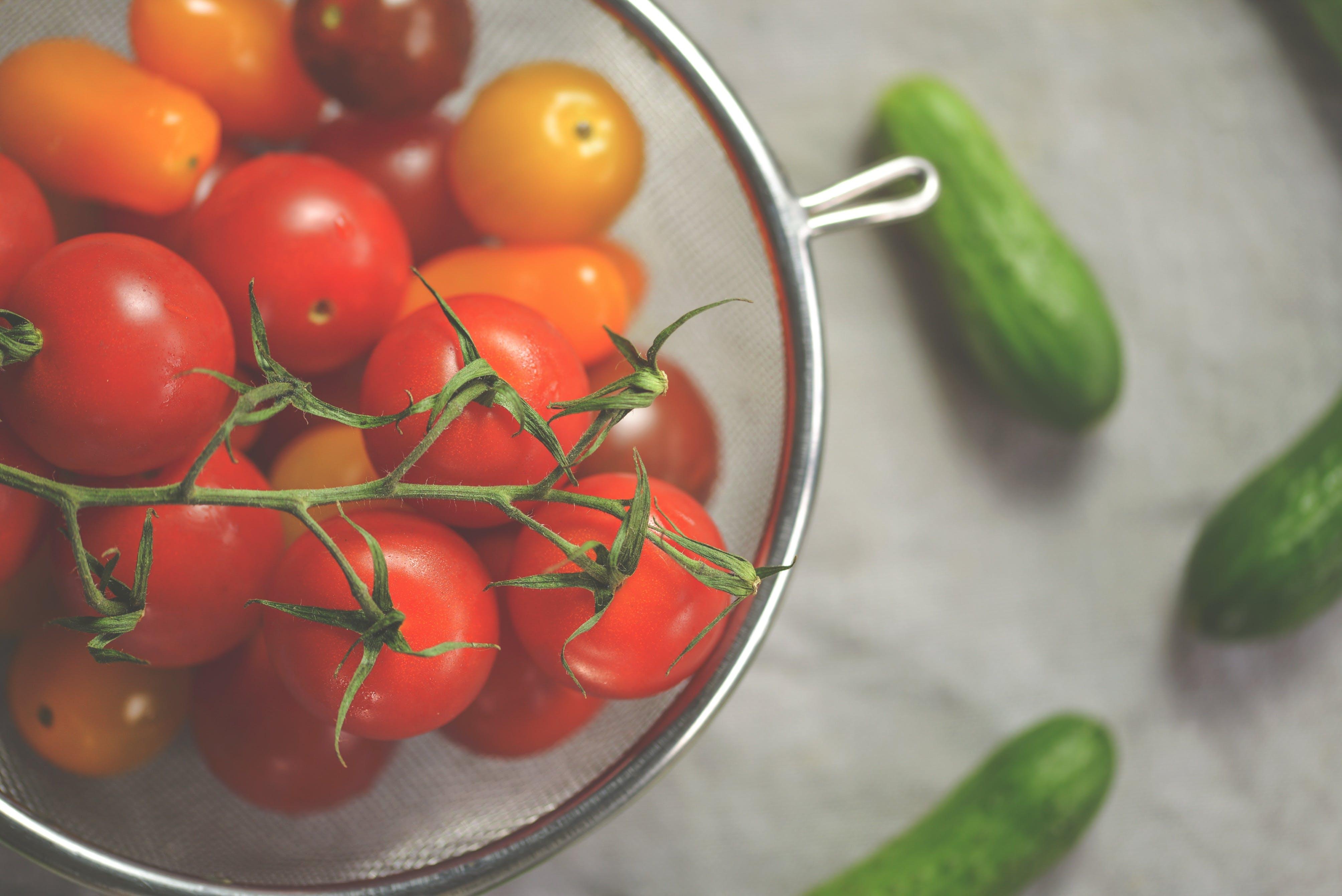 essen, frische, früchte