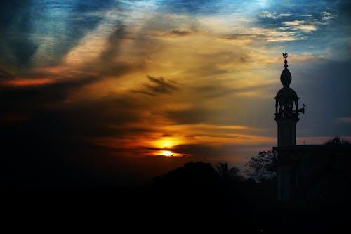 Kostnadsfri bild av islamisk, solnedgång