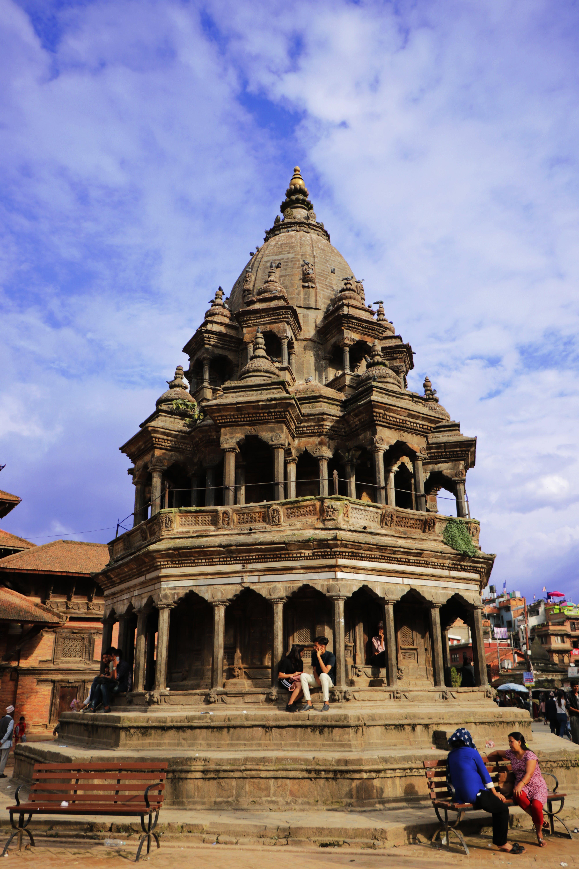 Free stock photo of krishna mandir