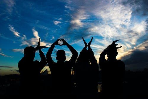 Foto d'estoc gratuïta de amor, comunitat, diversió, fons de pantalla d'amor