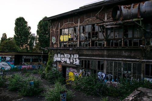 Fotobanka sbezplatnými fotkami na tému graffiti, khd, khd hallen, Kolín nad Rýnom