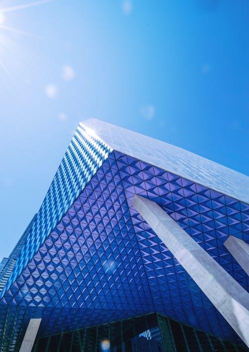 Immagine gratuita di architettura, bicchiere, contemporaneo, edificio